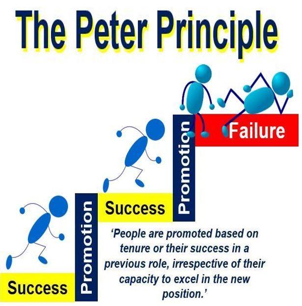 بنەمای پیتەر Peter Principle